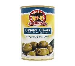 Green Olives Stuffed with Anchovies (350g)