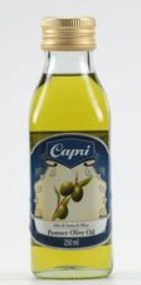"""CAPRI"" POMACE OLIVE OIL 250ML"