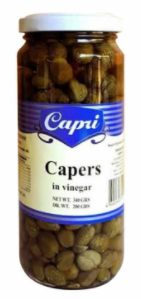 """CARPI"" CAPERS IN VINEGAR 340G"