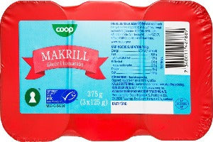 Makerel in Tomato Sauce  3- Tin (375g)