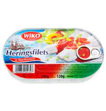 Herring Fillet in Paprika (200g)