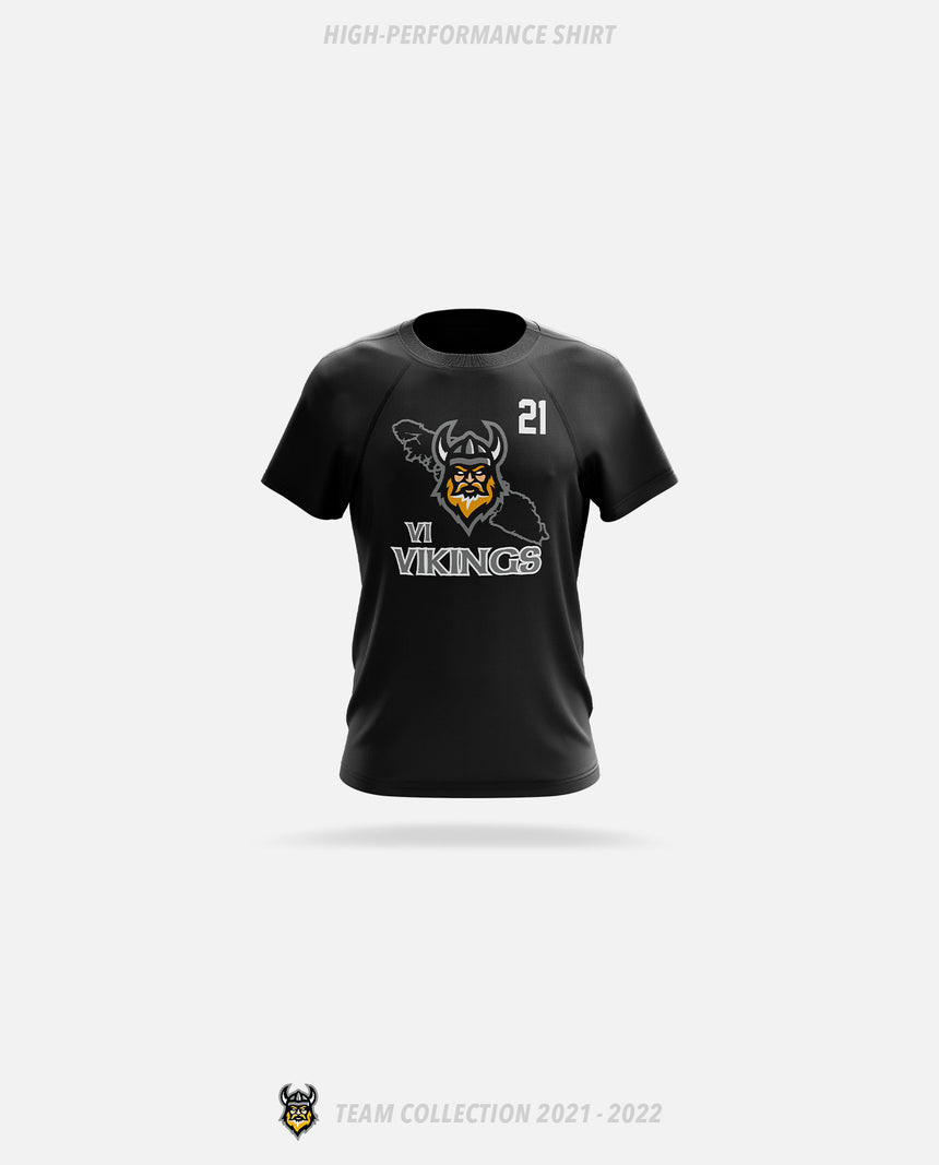 Vancouver Island Vikings High-Performance Shirt - GSW Team Collection 2020-2021