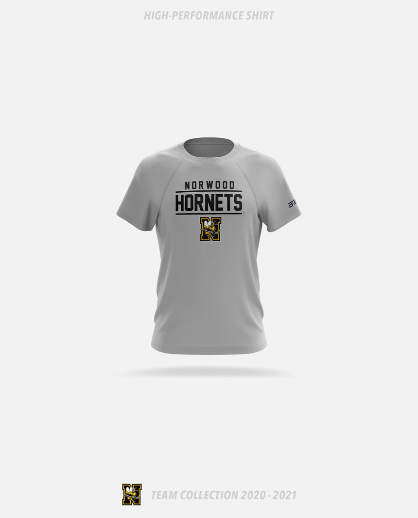 Norwood Hornets High-Performance Shirt - GSW Team Collection 2020-2021