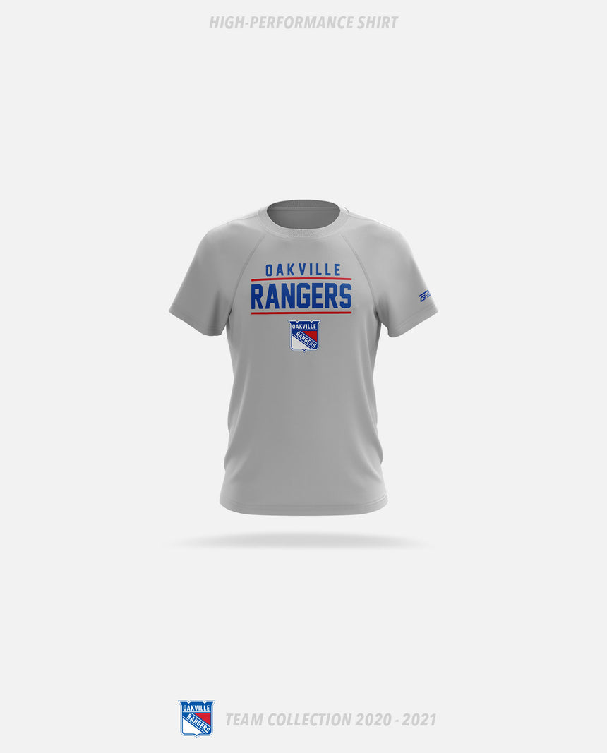 Oakville Rangers High-Performance Shirt - Oakville Rangers Team Collection 2020-2021