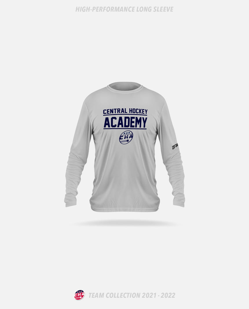Central Hockey Academy High-Performance Long Sleeve - GSW Team Collection 2020-2021