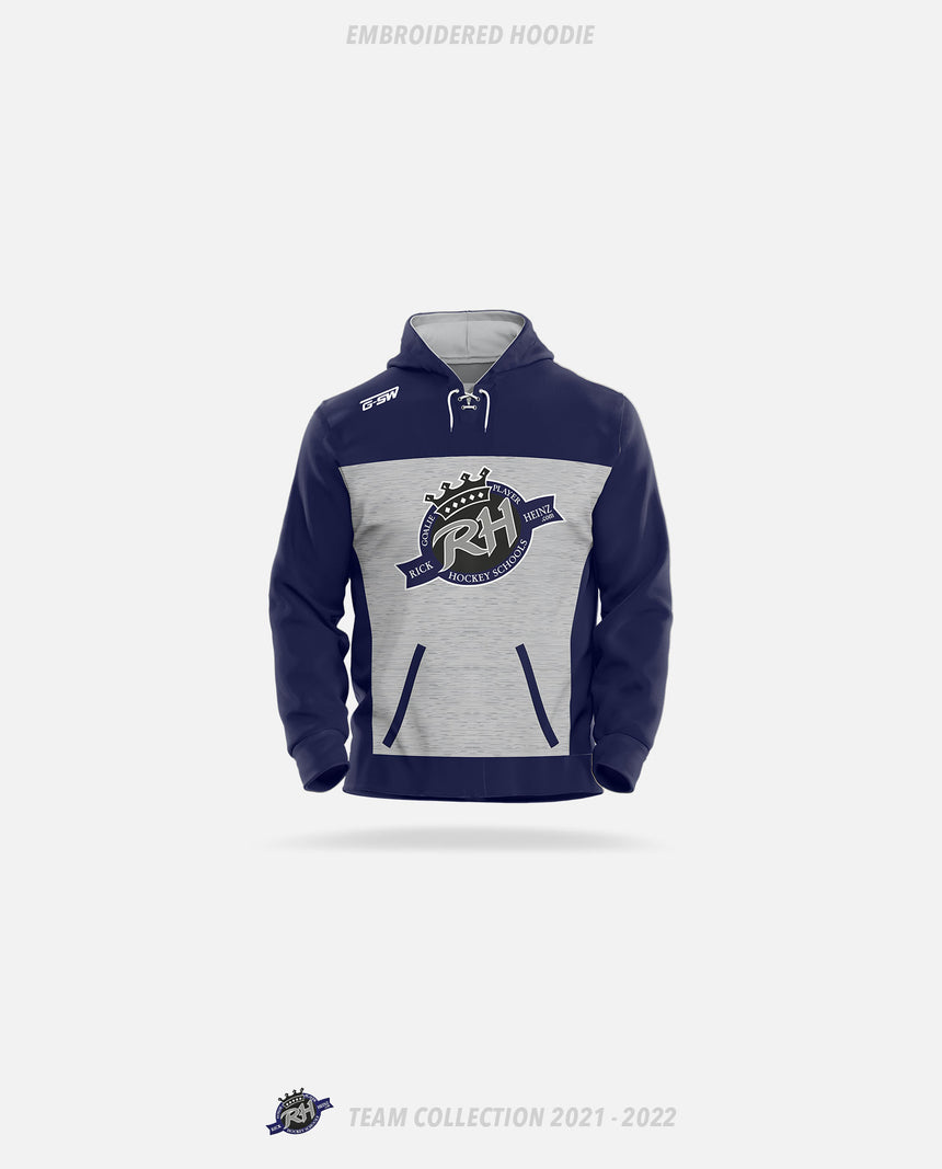 Rick Heinz Goalie School Embroidered Hoodie - GSW Team Collection 2020-2021