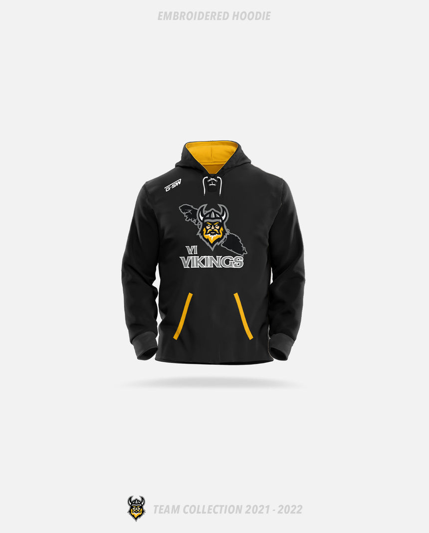 Vancouver Island Vikings Embroidered Hoodie - GSW Team Collection 2020-2021