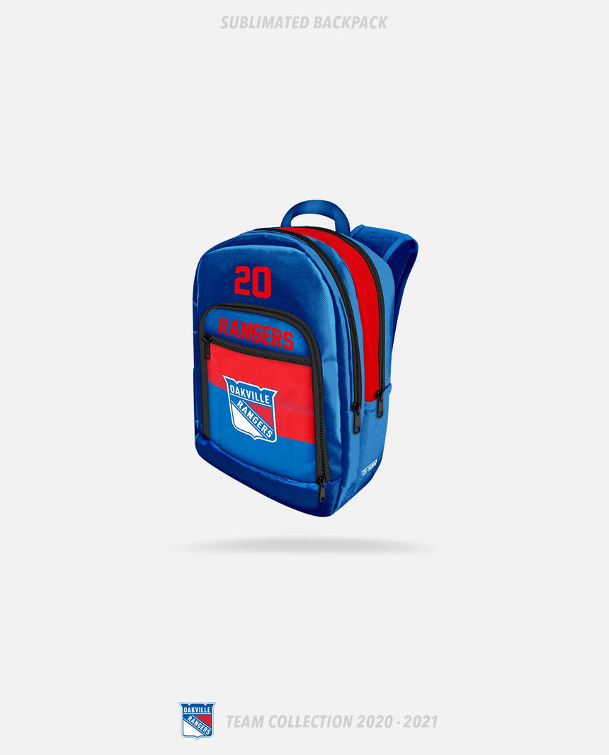 Oakville Rangers Sublimated Backpack - Oakville Rangers Team Collection 2020-2021