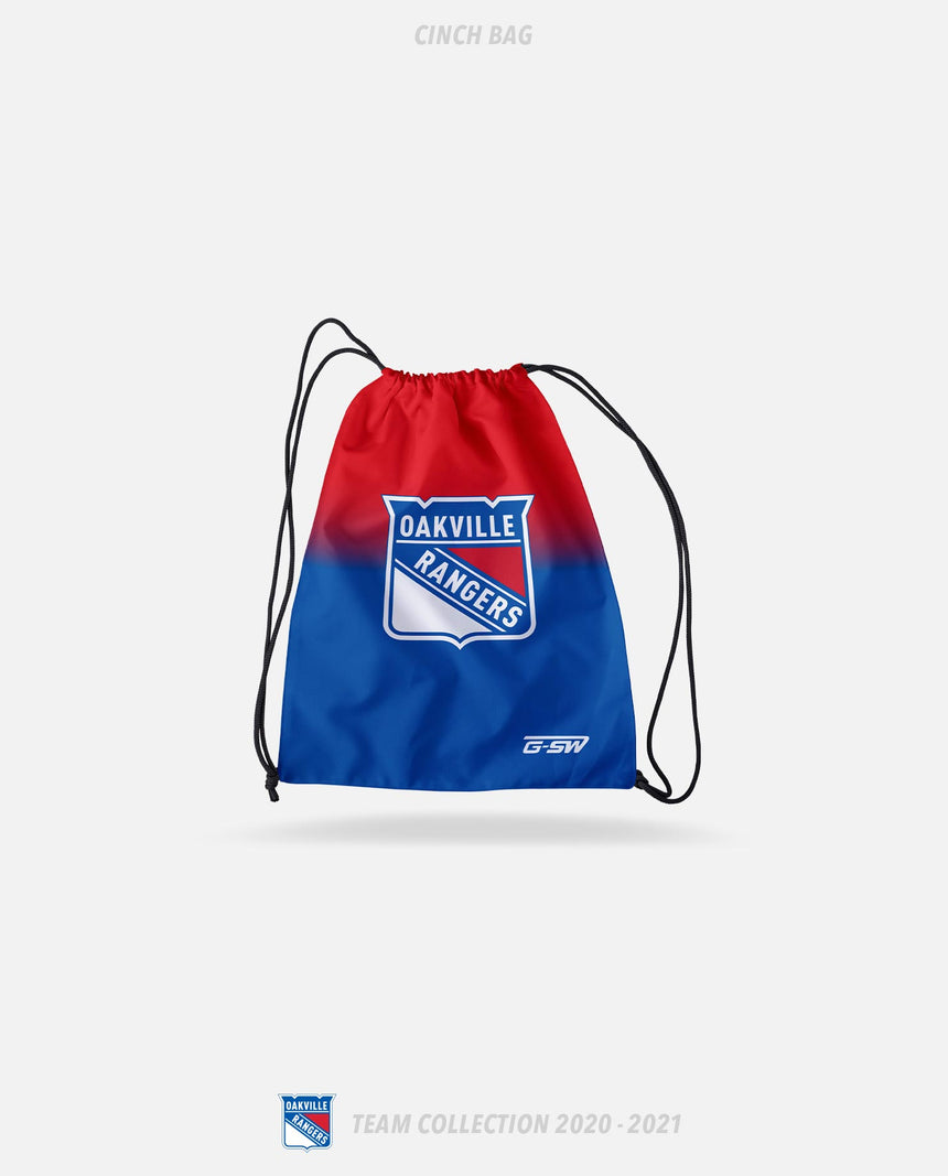 Oakville Rangers Cinch Bag - Oakville Rangers Team Collection 2020-2021