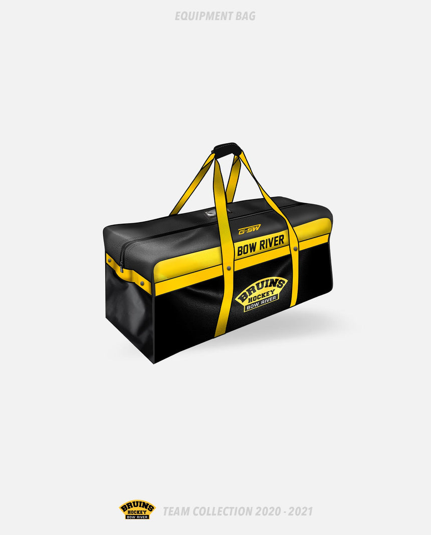 Bow River Bruins Equipment Bag - Bow River Bruins Team Collection 2020-2021