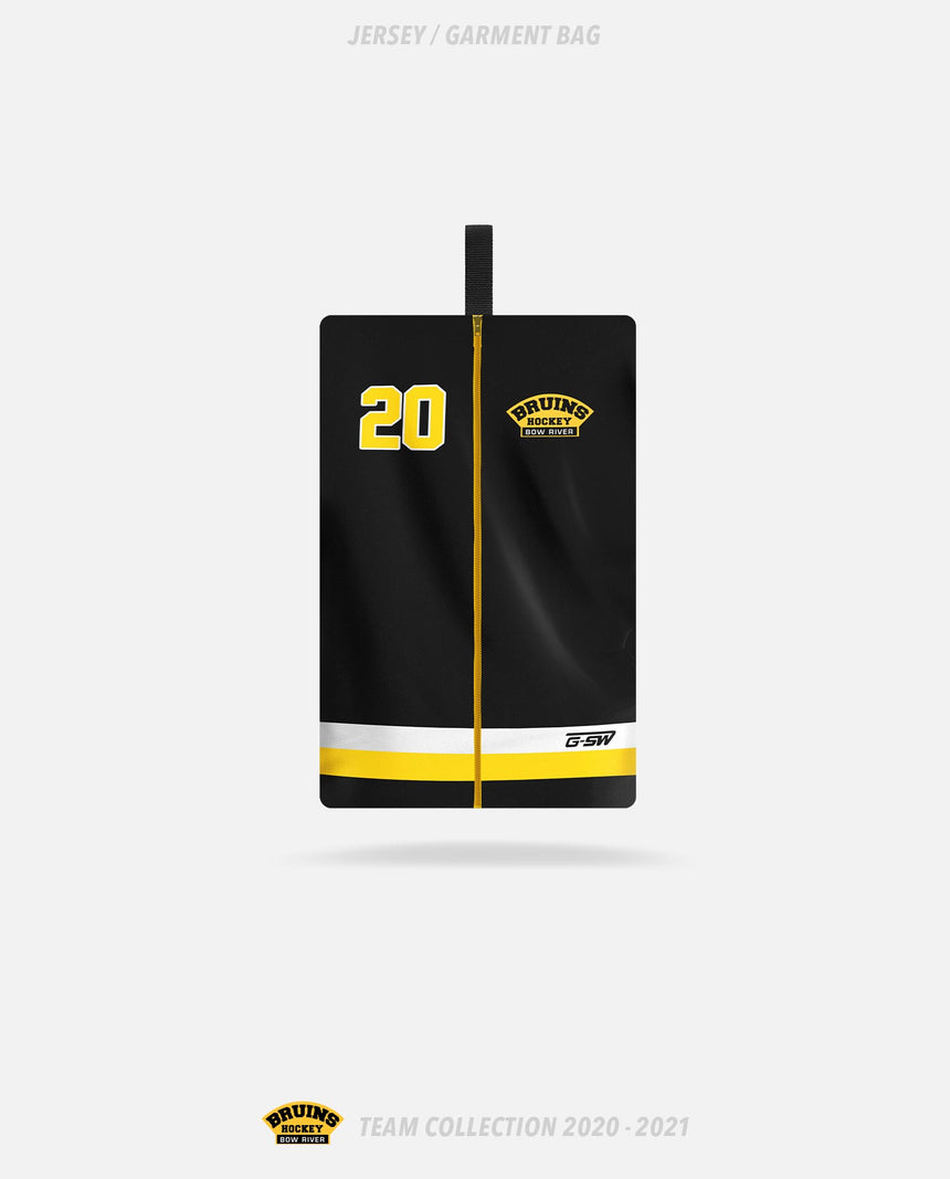 Bow River Bruins Jersey/Garment Bag - Bow River Bruins Team Collection 2020-2021
