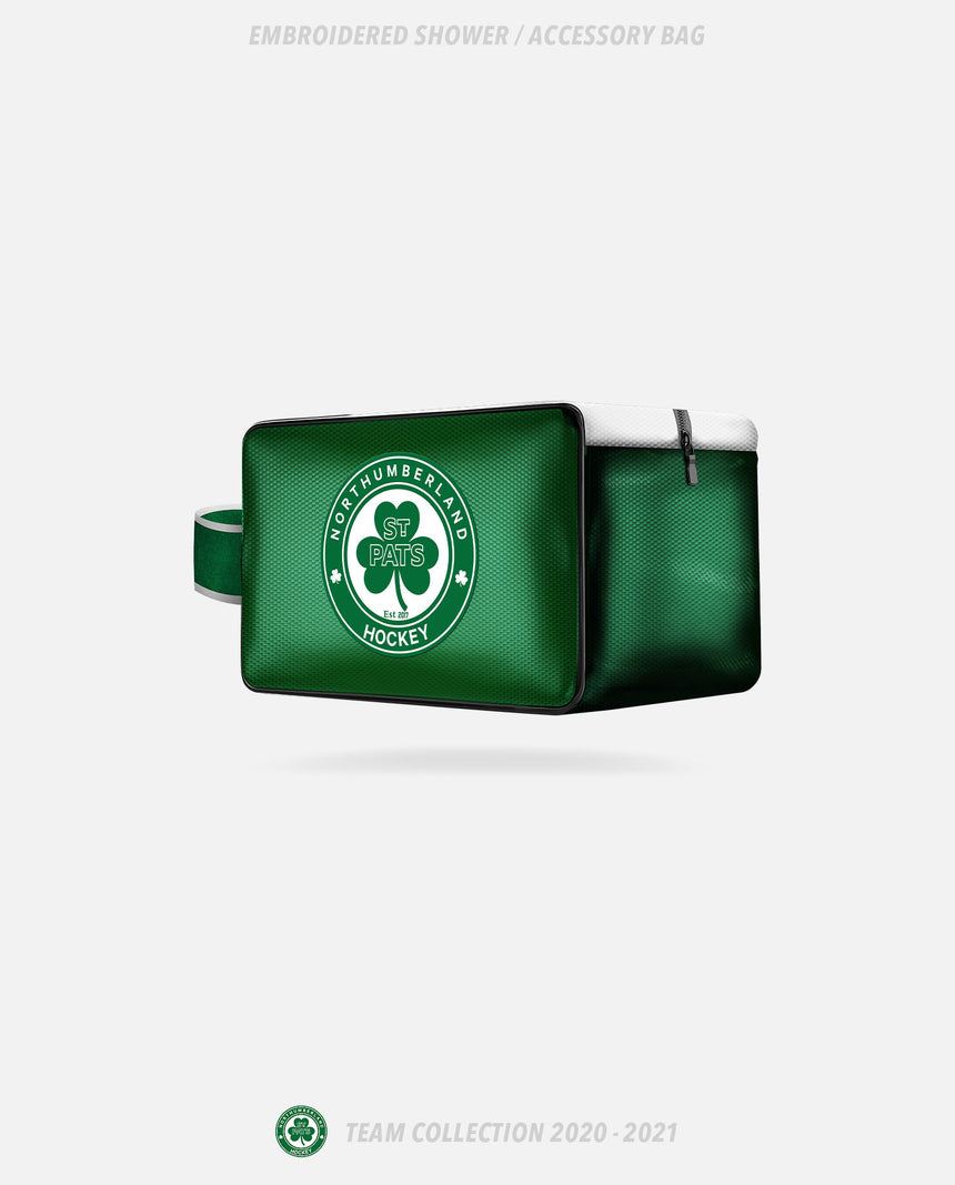 Northumberland St Pats Embroidered Shower/Accessory Bag - GSW Team Collection 2020-2021