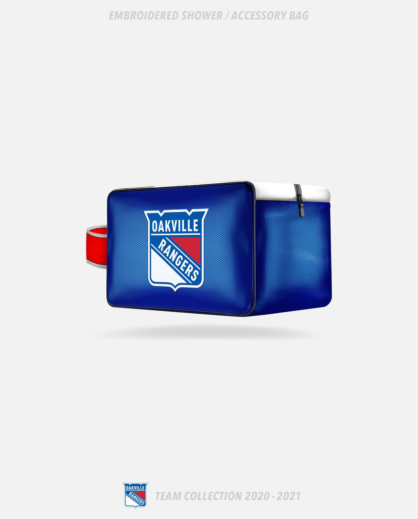 Oakville Rangers Embroidered Shower/Accessory Bag - Oakville Rangers Team Collection 2020-2021