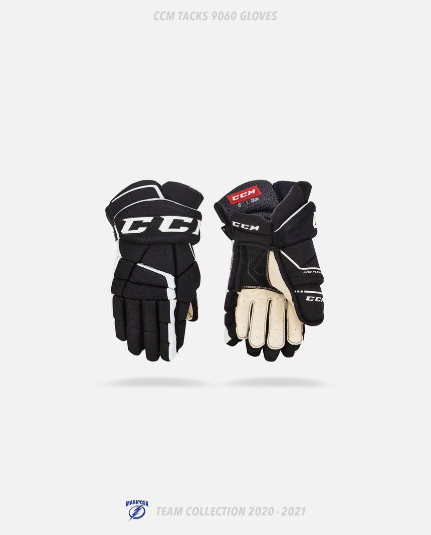 Mariposa Lightning CCM Tacks 9060 Gloves - GSW Team Collection 2020-2021