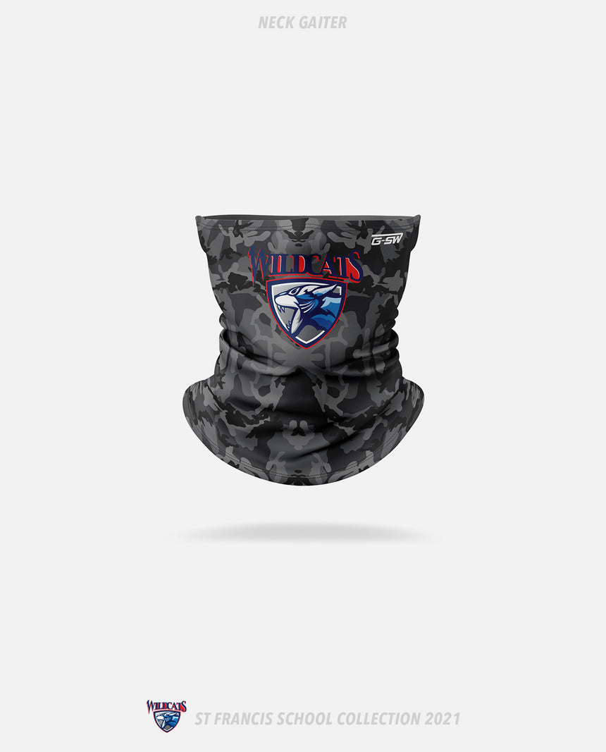 St. Francis Wildcats Neck Gaiter - GSW Team Collection 2020-2021