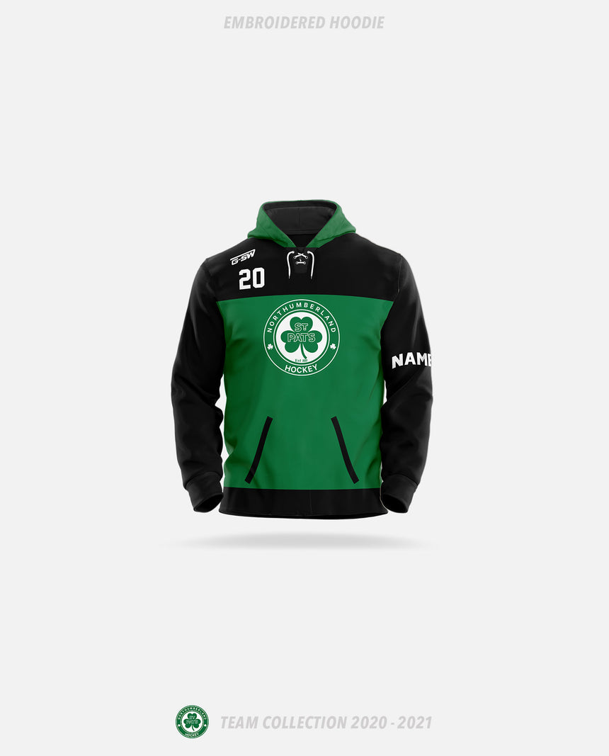 Northumberland St Pats Embroidered Hoodie - GSW Team Collection 2020-2021