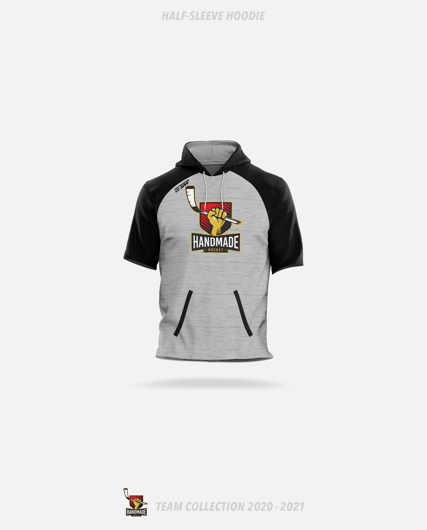 Hand Made Hockey Half-Sleeve Hoodie - Hand Made Hockey Team Collection 2020-2021