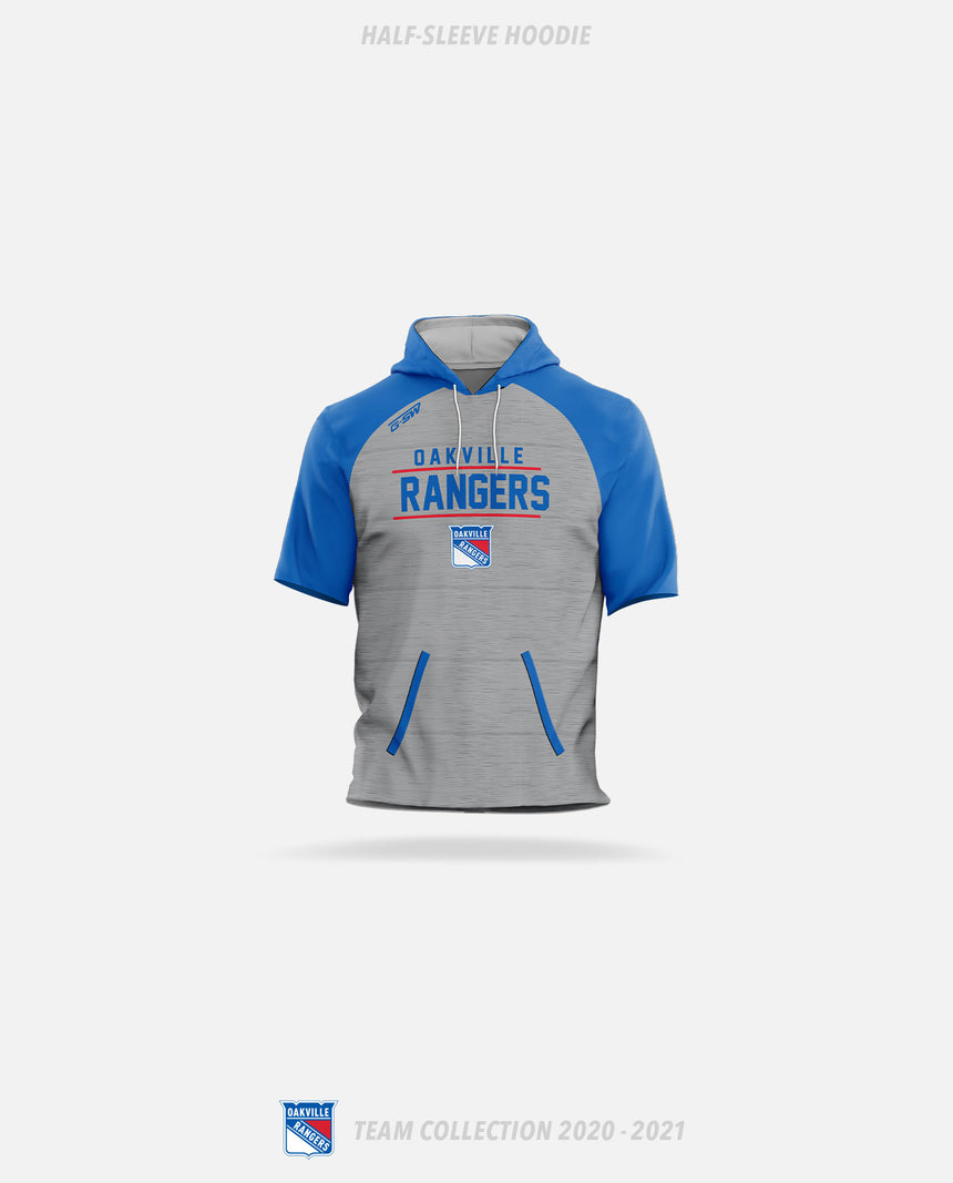 Oakville Rangers Half-Sleeve Hoodie - Oakville Rangers Team Collection 2020-2021