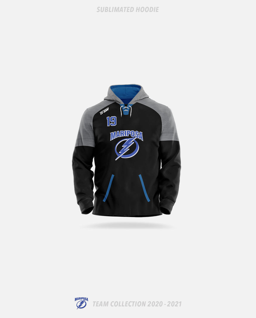 Mariposa Lightning Sublimated Hoodie - GSW Team Collection 2020-2021