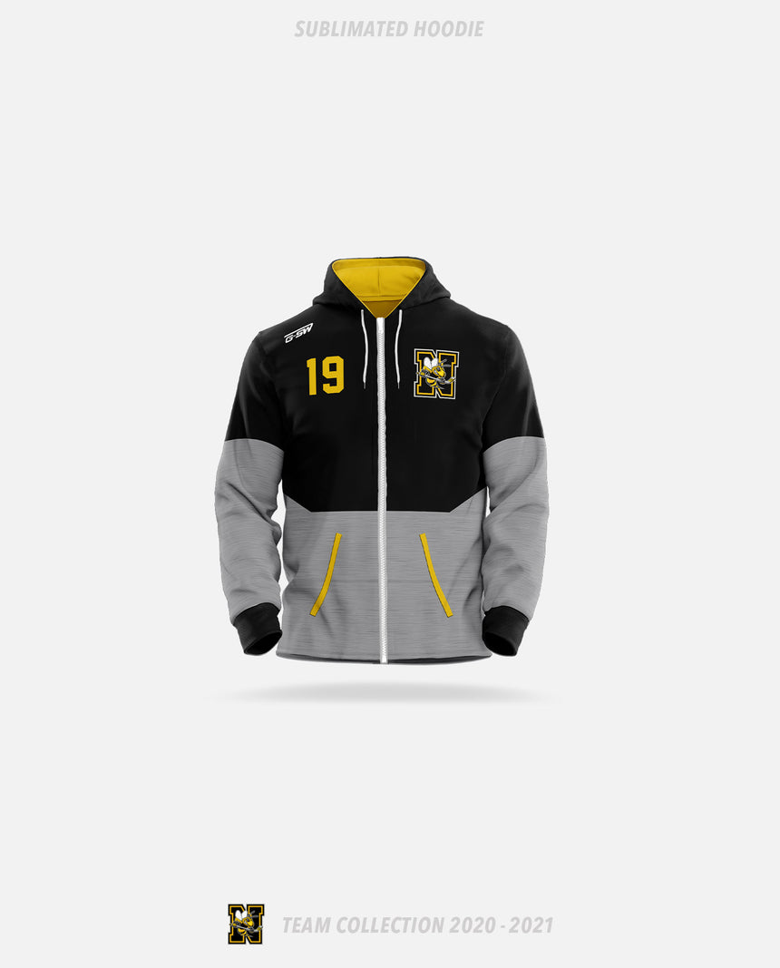 Norwood Hornets Sublimated Hoodie - GSW Team Collection 2020-2021