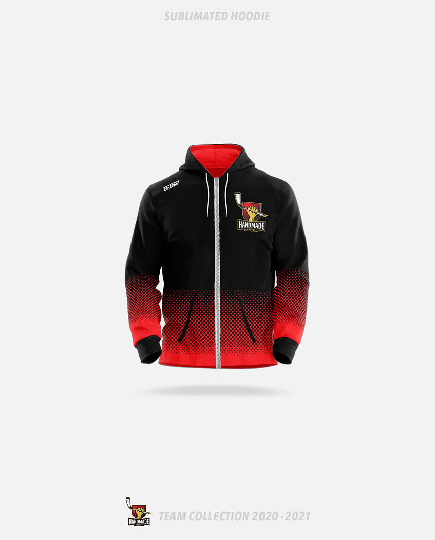 Hand Made Hockey Sublimated Hoodie - Hand Made Hockey Team Collection 2020-2021