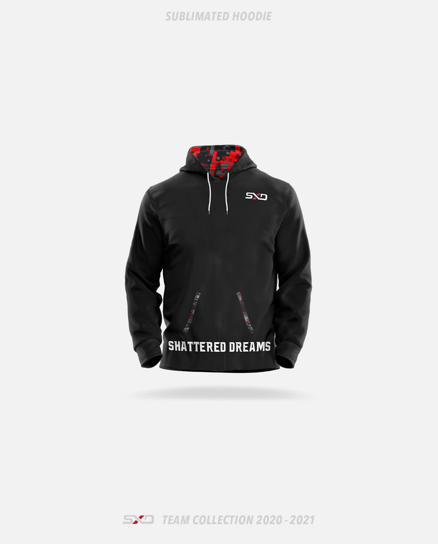 Shattered Dreams Esports Sublimated Hoodie - Shattered Dreams Esports Team Collection 2020-2021