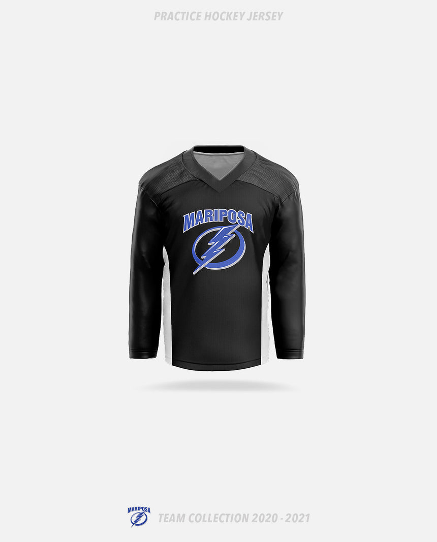 Mariposa Lightning Practice Hockey Jersey - GSW Team Collection 2020-2021