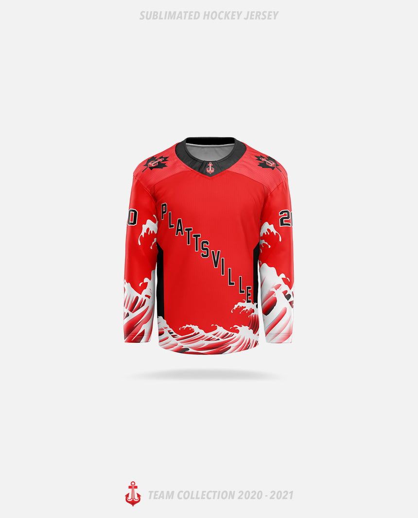 Plattsville Lakers Sublimated Hockey Jersey - GSW Team Collection 2020-2021