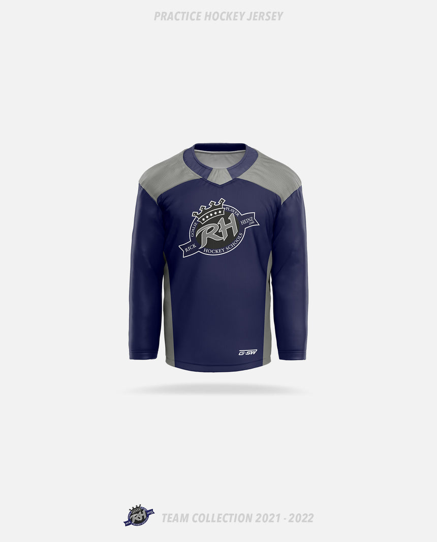 Rick Heinz Goalie School Practice Hockey Jersey - GSW Team Collection 2020-2021