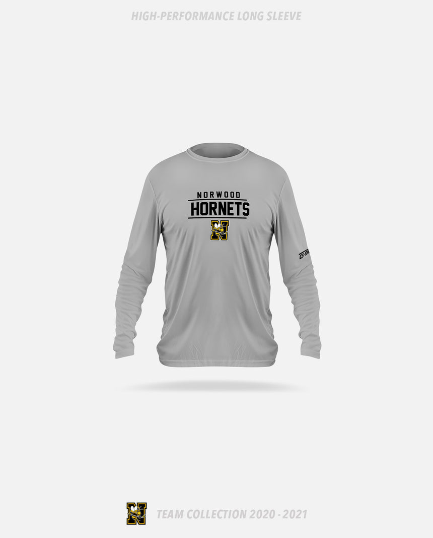 Norwood Hornets High-Performance Long Sleeve - GSW Team Collection 2020-2021