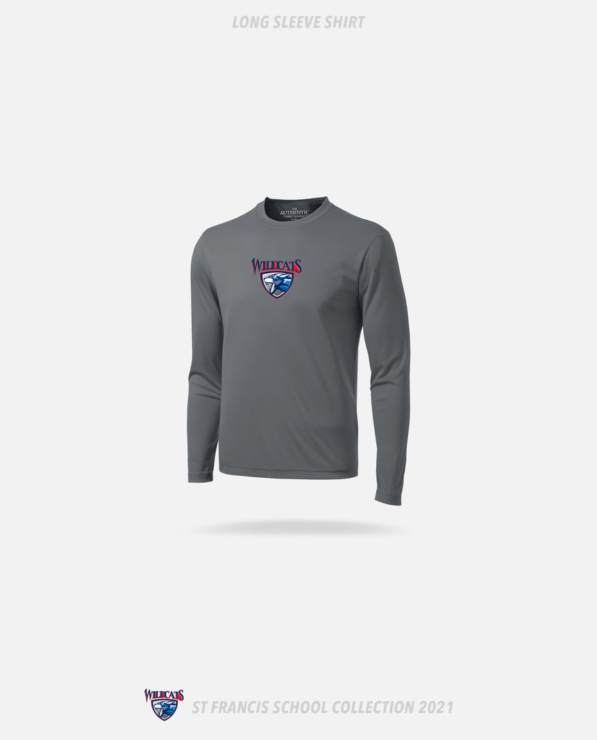 St. Francis Wildcats Long Sleeve Shirt - GSW Team Collection 2020-2021