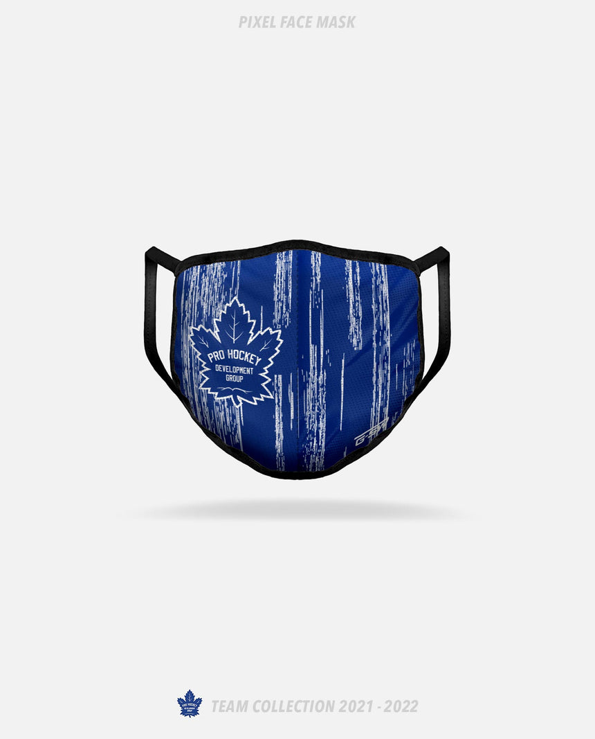 Pro Hockey Pixel Face Mask - GSW Team Collection 2020-2021
