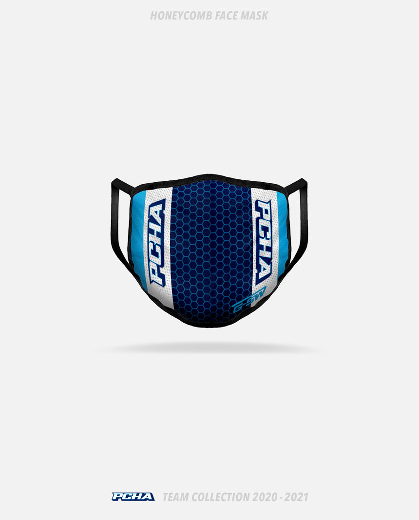 PCHA Sea Devils Honeycomb Face Mask - GSW Team Collection 2020-2021