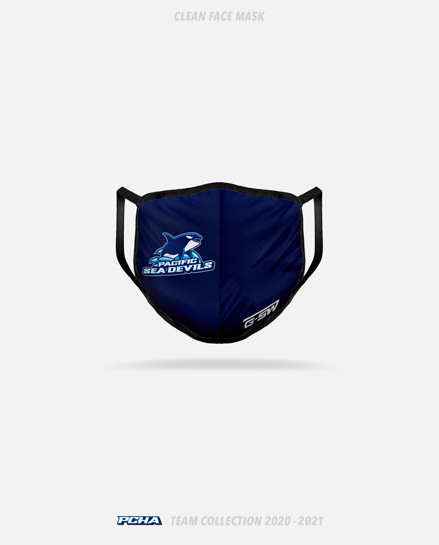 PCHA Sea Devils Clean Face Mask - GSW Team Collection 2020-2021