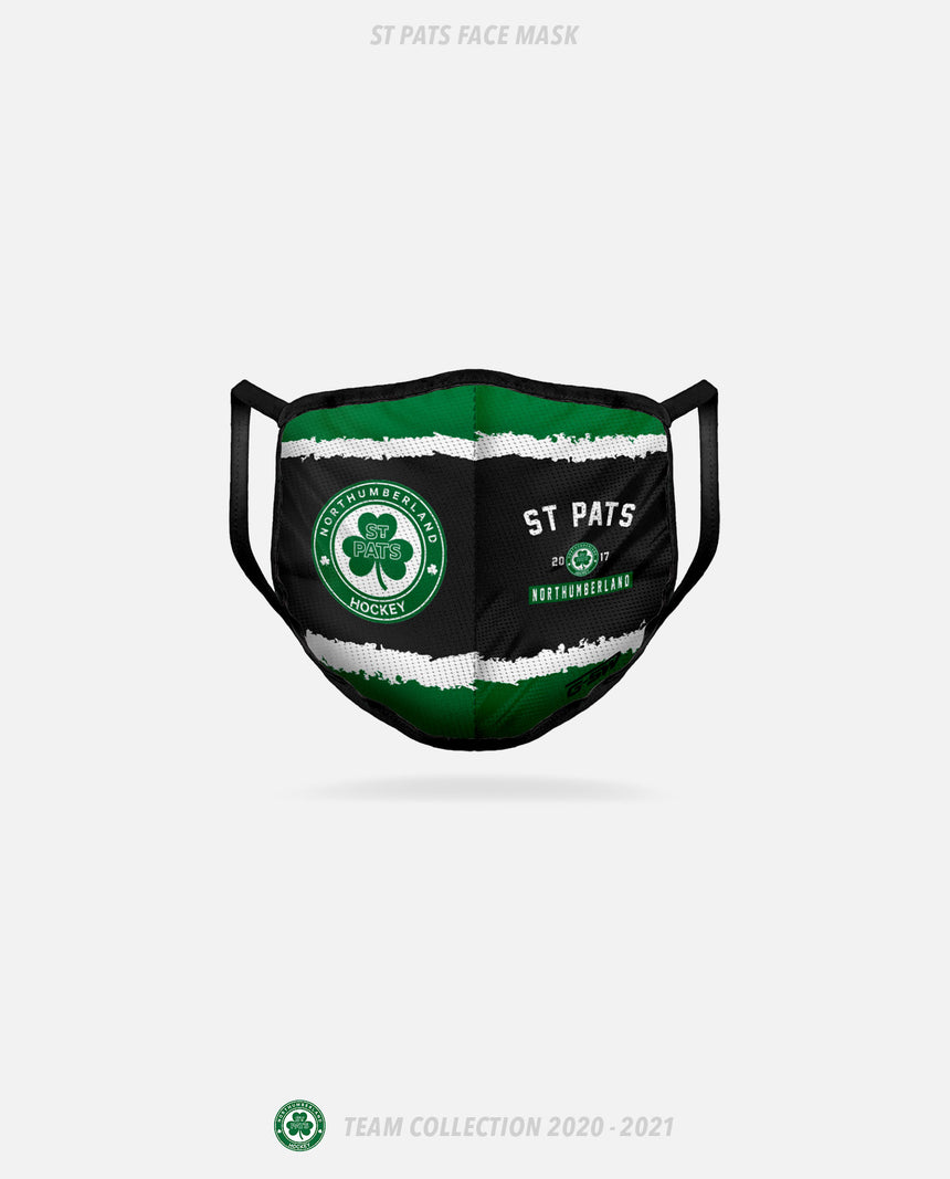 Northumberland St Pats Face Mask