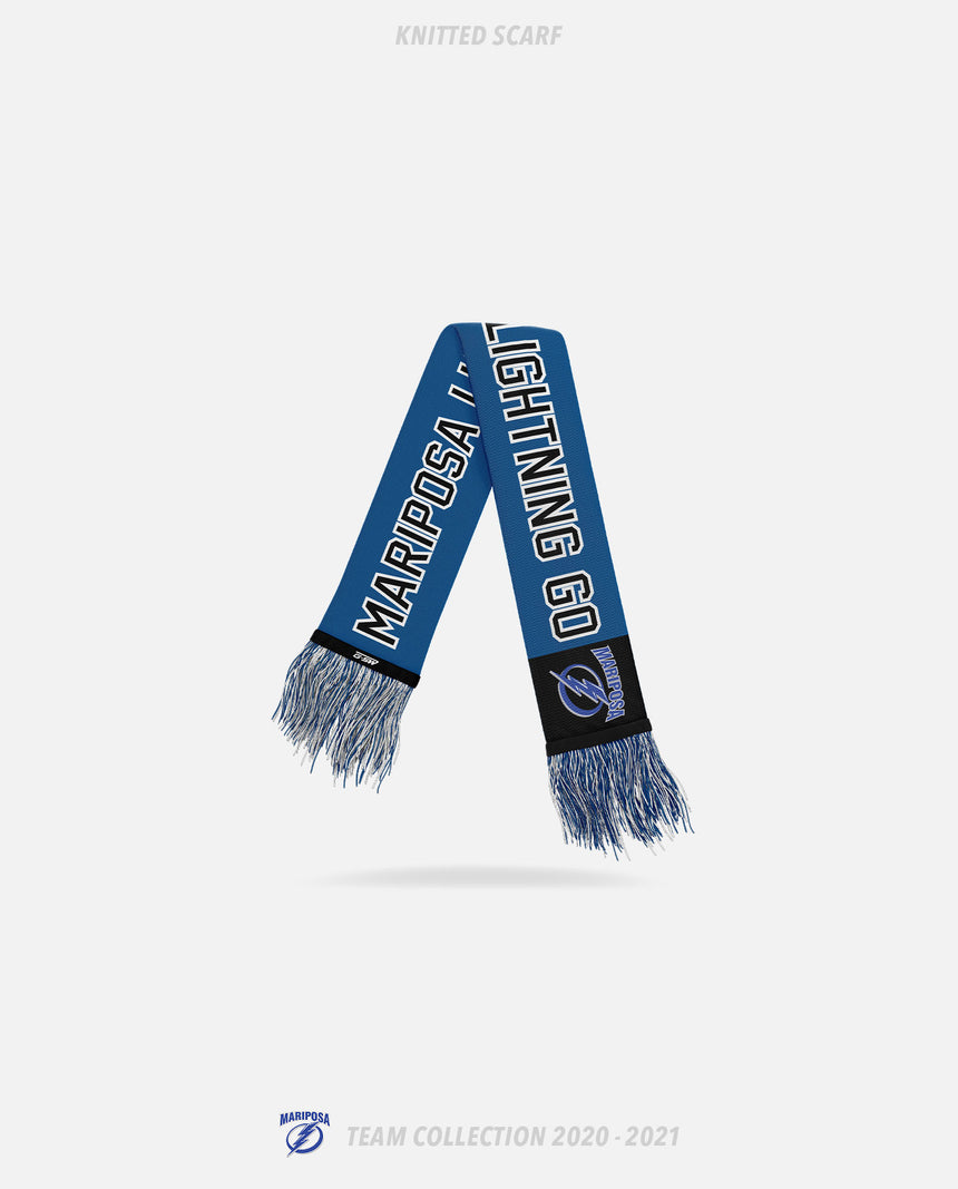 Mariposa Lightning Knitted Scarf - GSW Team Collection 2020-2021