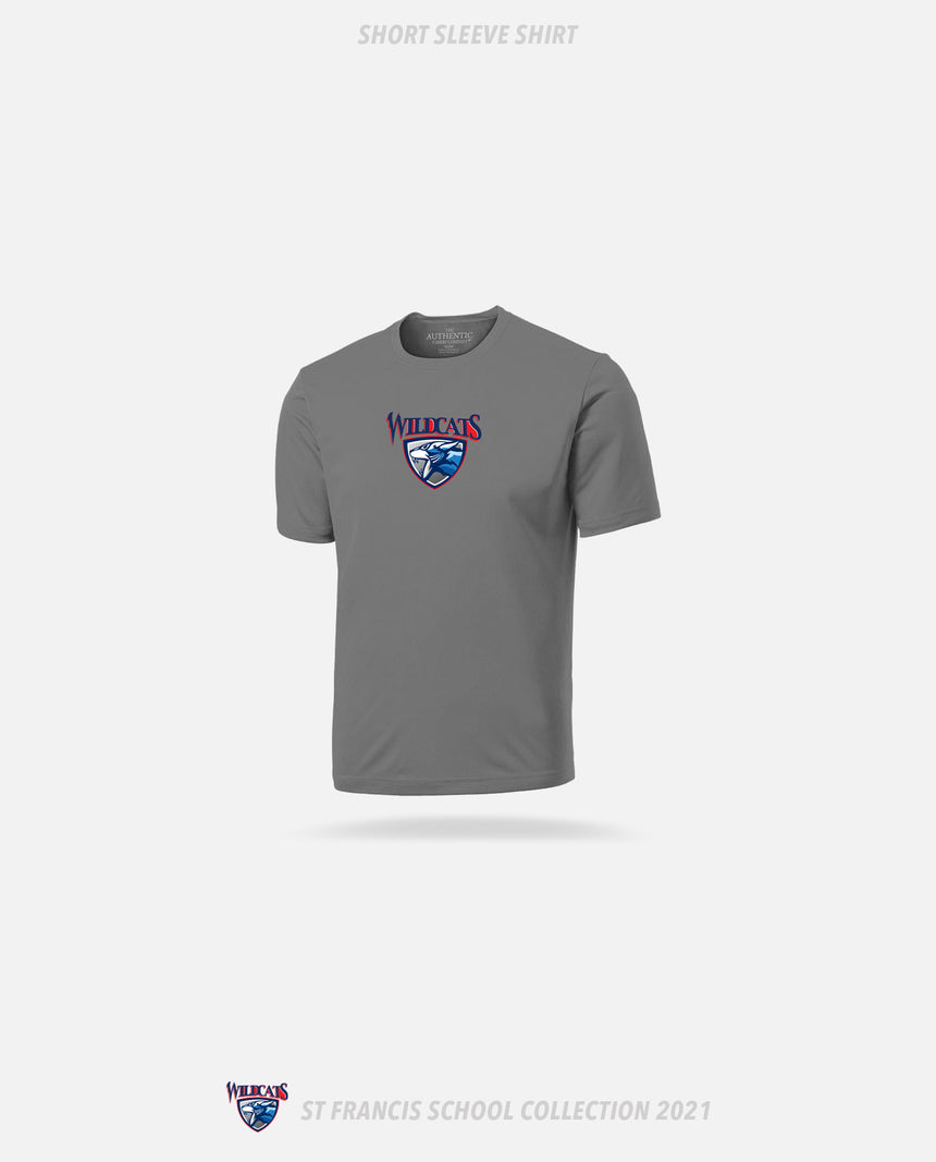 St. Francis Wildcats Short Sleeve Shirt - GSW Team Collection 2020-2021