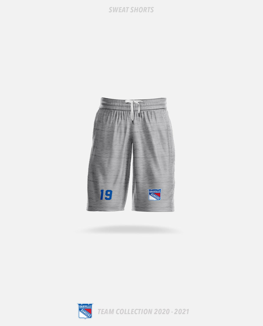Oakville Rangers Sweat Shorts - Oakville Rangers Team Collection 2020-2021