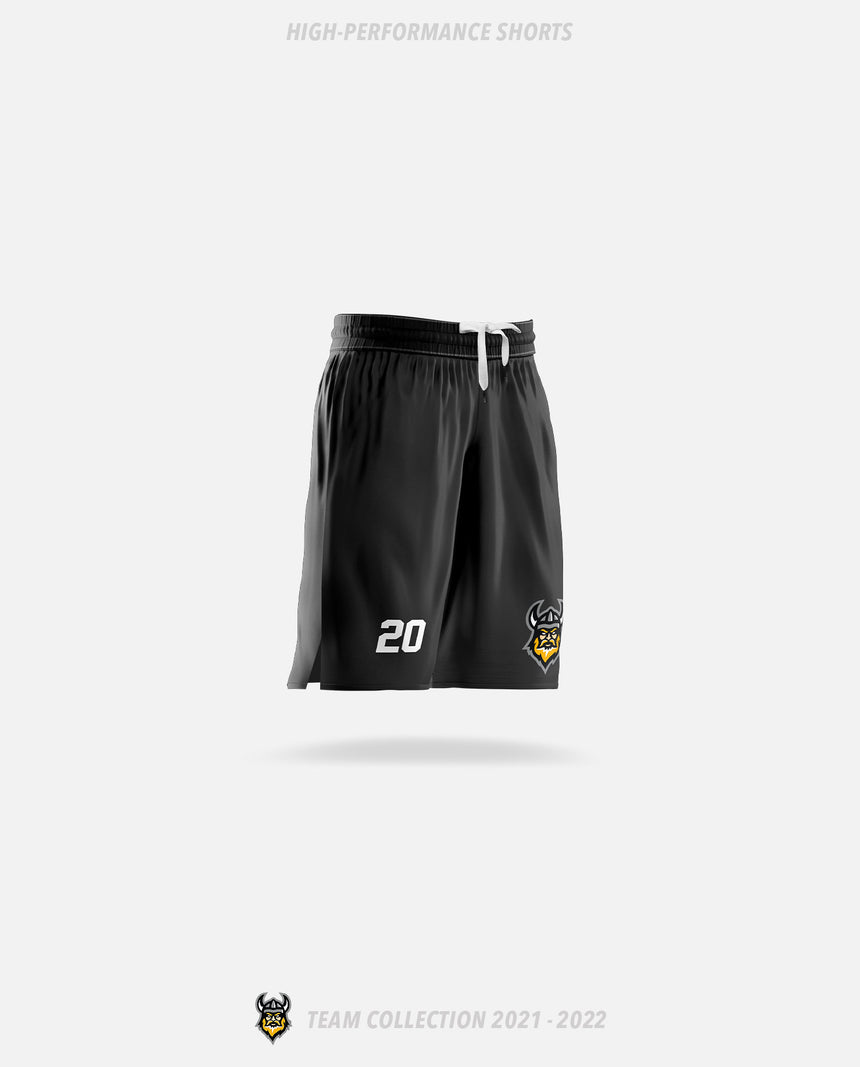 Vancouver Island Vikings High-Performance Shorts - GSW Team Collection 2020-2021