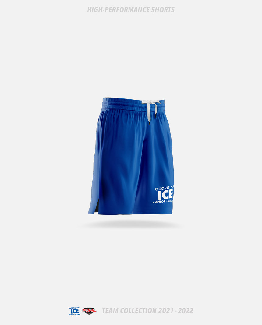 Georgina Ice High-Performance Shorts - GSW Team Collection 2020-2021