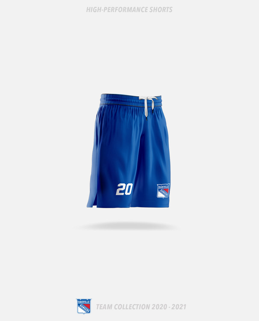 Oakville Rangers High-Performance Shorts - Oakville Rangers Team Collection 2020-2021
