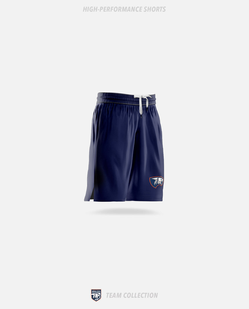 Parkland Junior Maulers High-Performance Shorts - GSW Team Collection