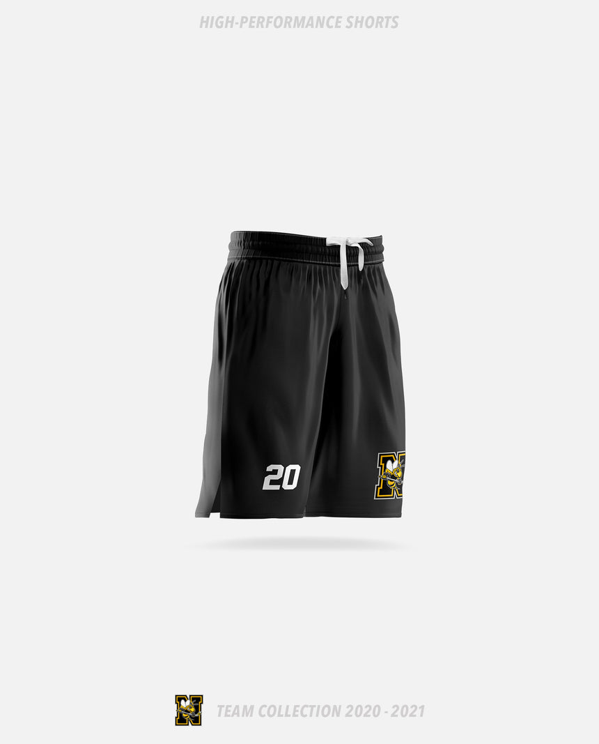 Norwood Hornets High-Performance Shorts - GSW Team Collection 2020-2021