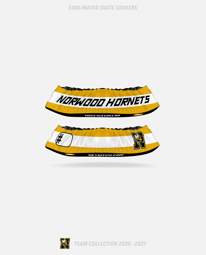 Norwood Hornets Sublimated Skate Soakers - GSW Team Collection 2020-2021