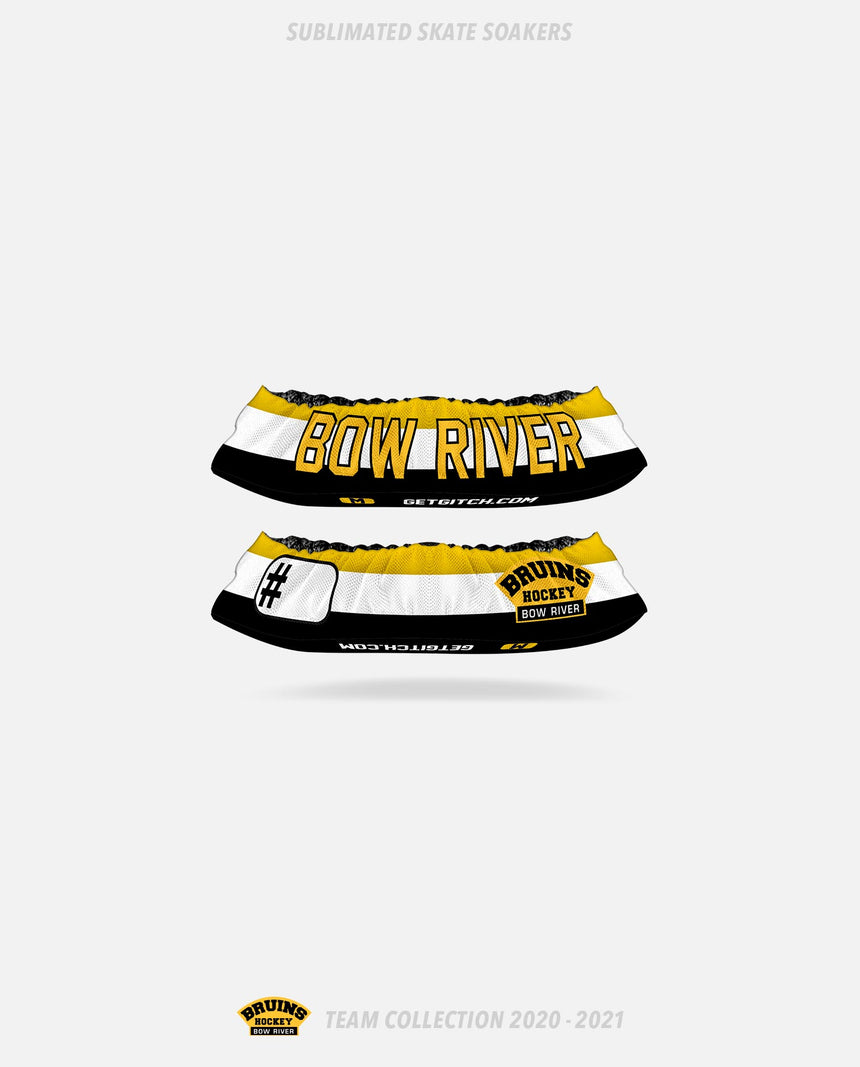 Bow River Bruins Sublimated Skate Soakers - Bow River Bruins Team Collection 2020-2021