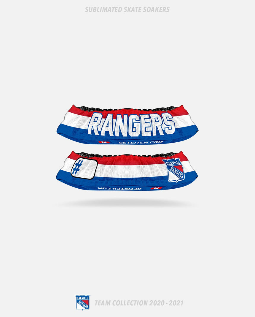 Oakville Rangers Sublimated Skate Soakers - Oakville Rangers Team Collection 2020-2021