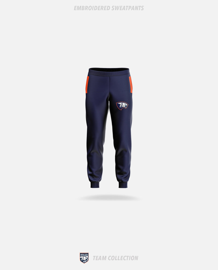 Parkland Junior Maulers Embroidered Sweatpants - GSW Team Collection