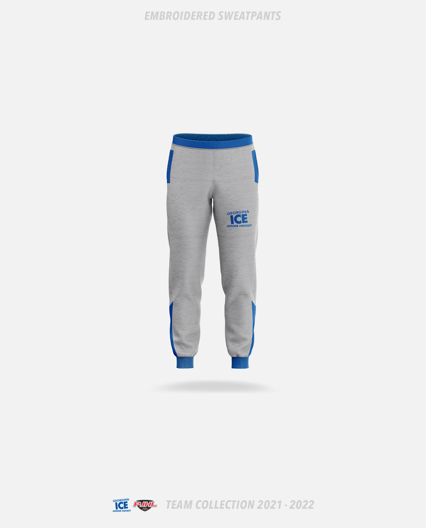 Georgina Ice Embroidered Sweatpants - GSW Team Collection 2020-2021