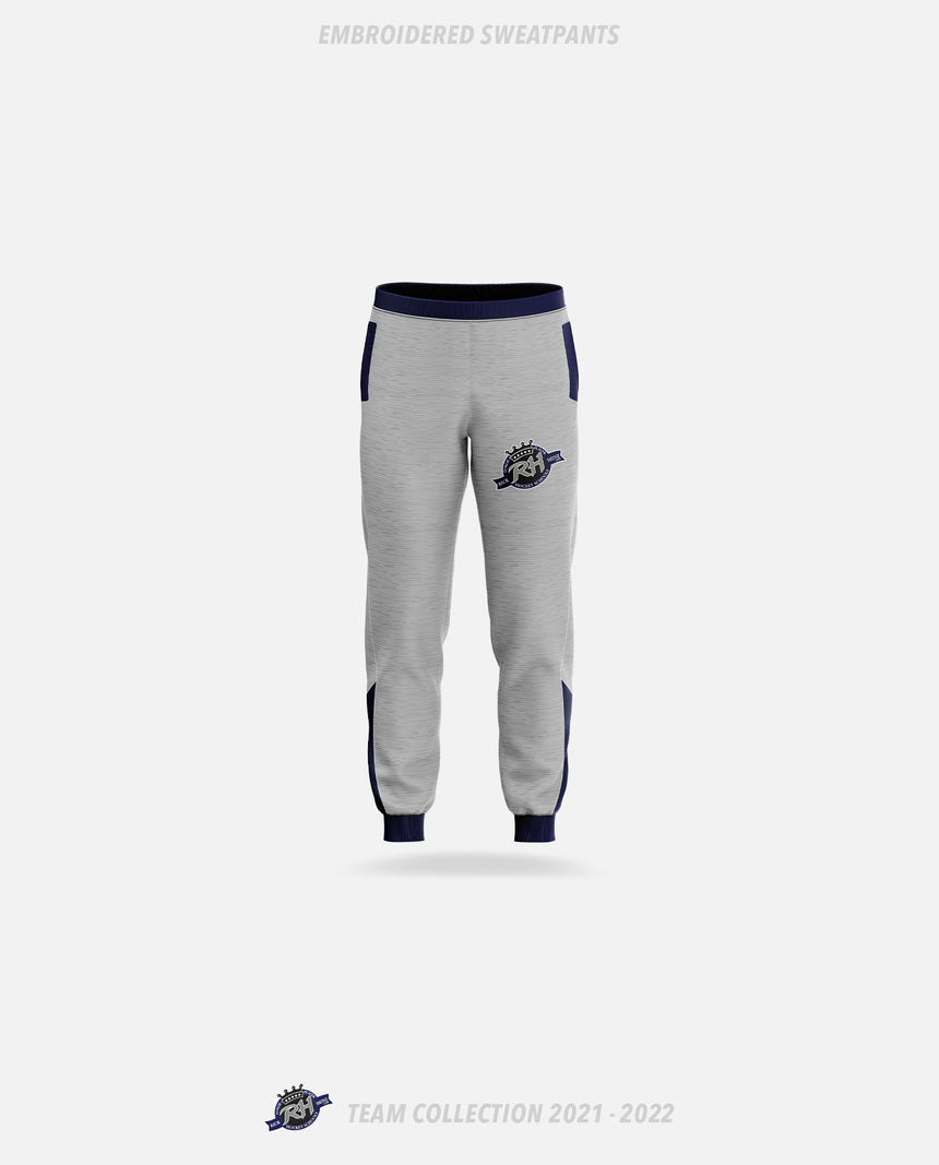 Rick Heinz Goalie School Embroidered Sweatpants - GSW Team Collection 2020-2021