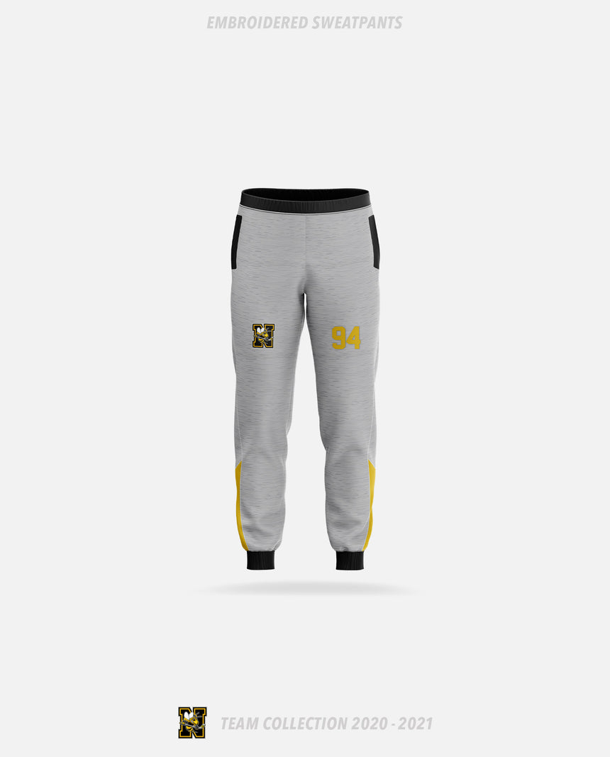 Norwood Hornets Embroidered Sweatpants - GSW Team Collection 2020-2021